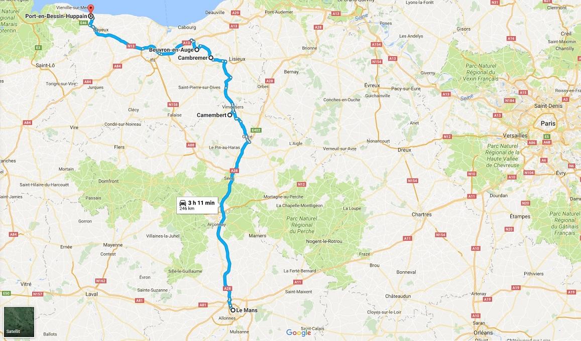 Vi Foljer Route De Cidre Genom Normandies Boljande Landskap